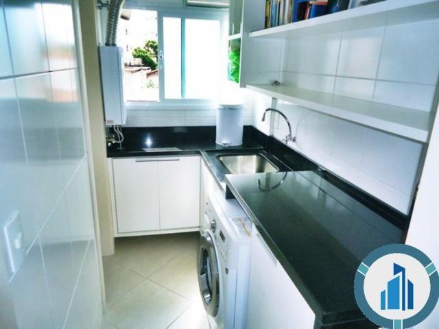 Apartamento para Venda, 03 dormitórios c/ suíte, 2 salas, 2 vagas, 120,87 m² privativos, B - Foto 7