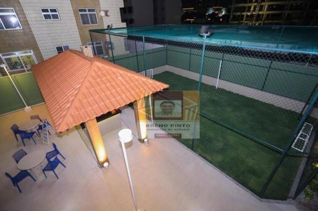 Apartamento no Serenitá Cócó com 3 dormitórios à venda, 98 m² por R$ 799.900 - Cocó - Fort - Foto 7