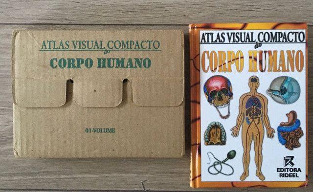 Atlas Visual compacto corpo humano capa dura livro novo R$45,00 C. Frio