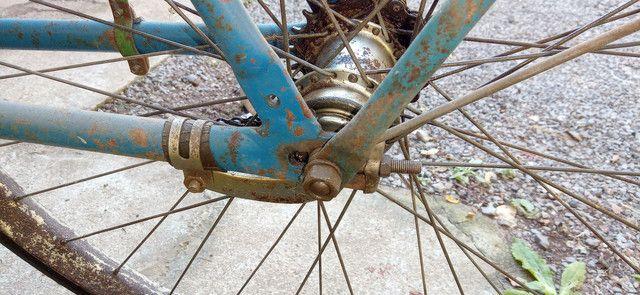 Bicicleta Antiga Anos 60 Decoração Ambientes - Foto 4