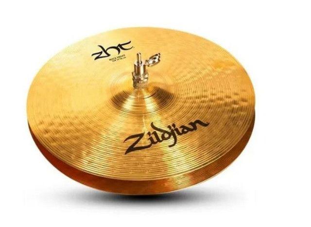 "Prato Zildjian ZHT 14"" Rock Hi-Hats ZHT14RTHB"