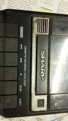 Gravador antigo Sharp. - Foto 3