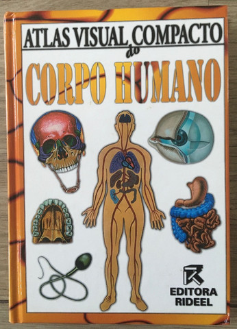Atlas Visual compacto corpo humano capa dura livro novo R$45,00 C. Frio - Foto 2