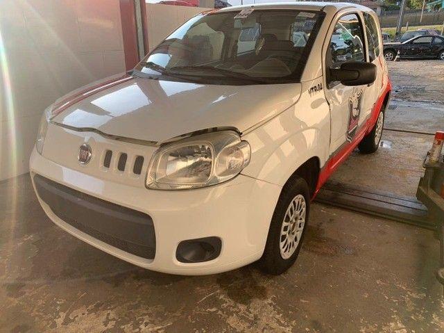 Fiat Uno Vivace 2015 Sucata para retirada de peças - Foto 2