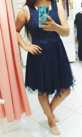 Vestido Azul Marinho várias ocasiões G