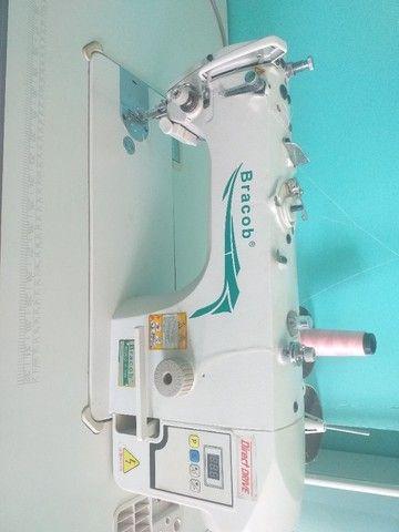 Máquina de costura Reta industrial Direct Drive semi nova. - Foto 2