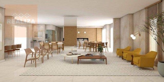 Apartamento com 3 dormitórios à venda, 120 m² por R$ 690.000 - Pedra - Eusébio/CE - Foto 2