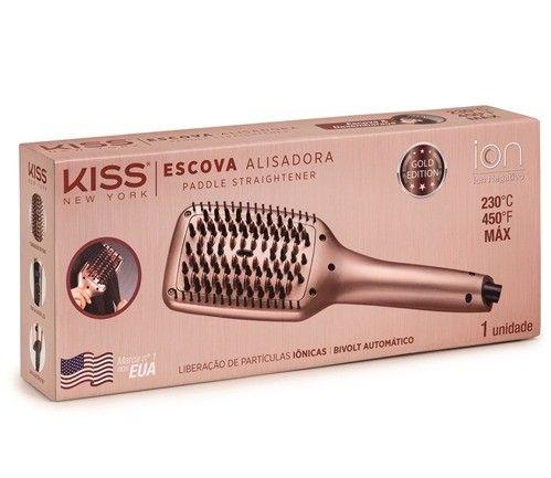 Escova Alisadora Kiss - Foto 2