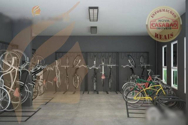 Apartamento com 2 dormitórios à venda, 93 m² por R$ 465.000 - Aviação - Praia Grande/SP - Foto 9