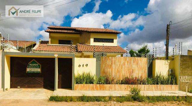 Casa com 5 dormitórios para alugar, 300 m² por R$ 2.700,00/mês - Novo Horizonte - Arapirac