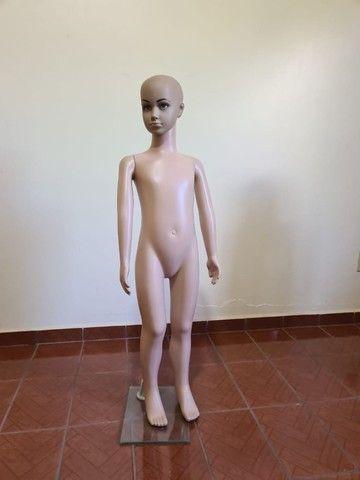 Manequins Manecos - 50 cada - Maneca Adultos Infantis e Pluz Size  - Foto 6
