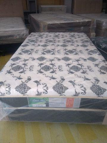 Cama box Viúvo com 10 cm espuma 1,20x 1,88 - Novo - Foto 4