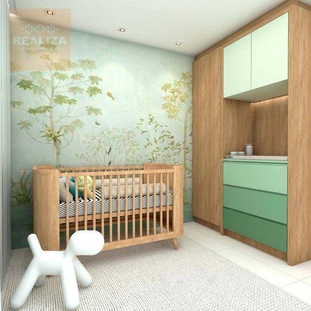 Apartamento com 3 dormitórios à venda, 120 m² por R$ 690.000 - Pedra - Eusébio/CE - Foto 5