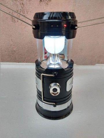 Lampião led USB multi funções.
