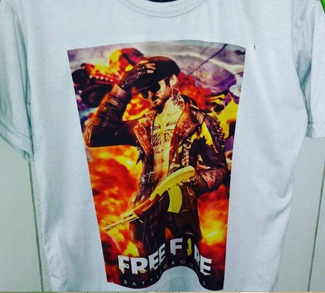 FreeFire camisas