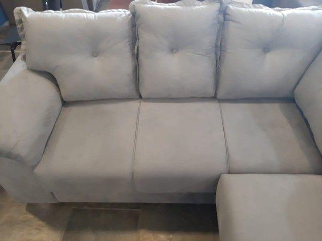 sofa canto 2,00x2,00 metro (novo) - Foto 3