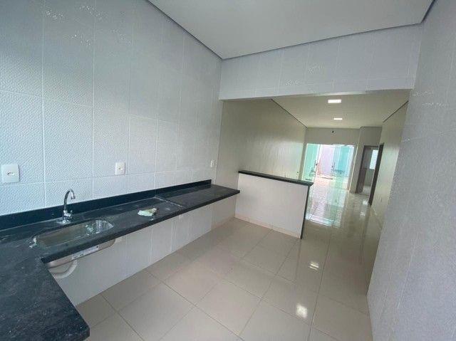 Linda casa, excelente espaço, 9x20, 3 quartos, entrega imediata  - Foto 4