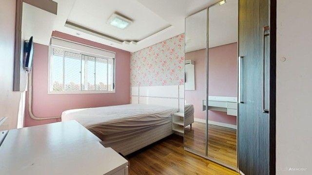 Apartamento Mobiliado com 59 m² de 2 dormitórios no Jardim Carvalho - Foto 17