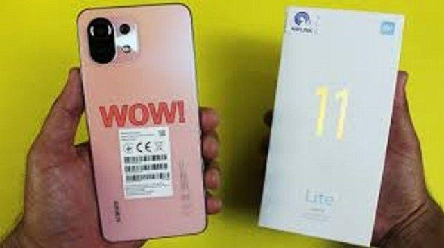 Mi 11 lite 128 GB/6 GB Ram Azul/Rosa  - Foto 4
