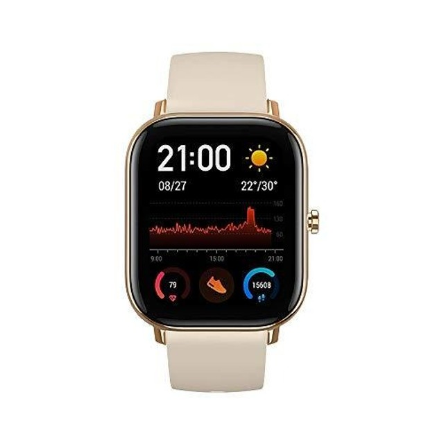 Relógio Xiaomi Amazfit GTS-A1914 - Preto - Cinza - Dourado - Foto 5