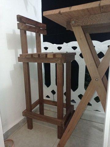 Conjunto mesa e cadeiras  - Foto 2