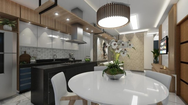 Cob. B. Veneza, 03 quartos suíte, Sac. Gourmet, Elevador 146 m². Valor 480 mil - Foto 9