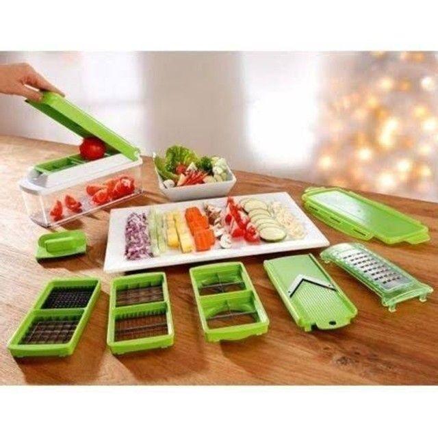 Nicer Dicer Plus (processador de alimentos) - Foto 4