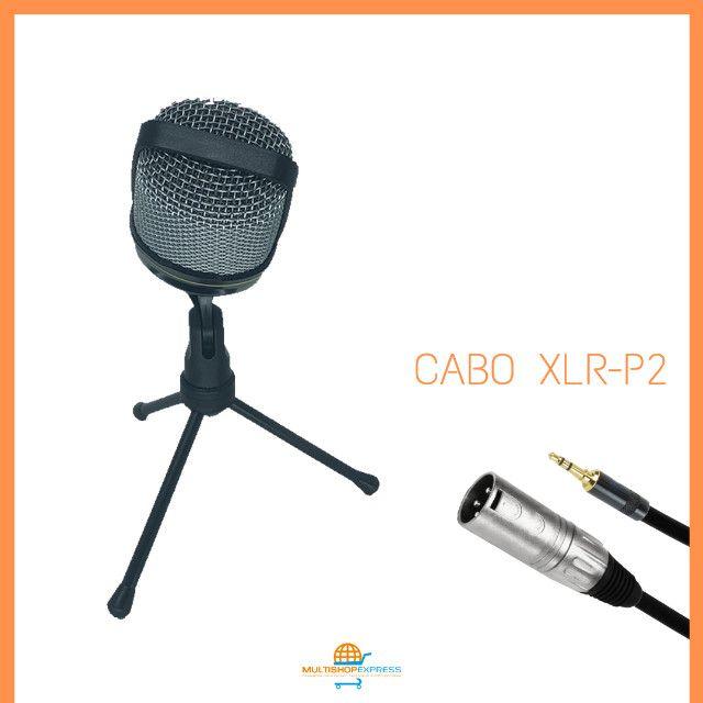 Microfone Condensador Gravação Studio Lives Vídeos - Foto 2
