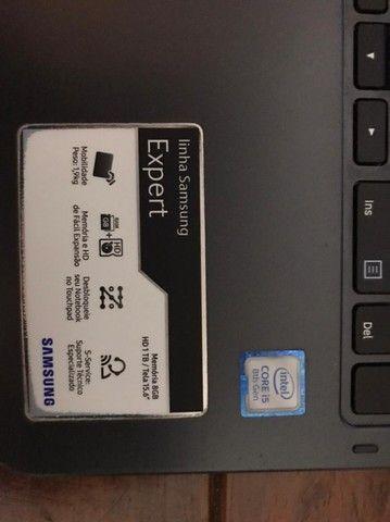 NoteBook Samsung linha expert - i5 / 8GB de RAM / HD de 1TB - Foto 3