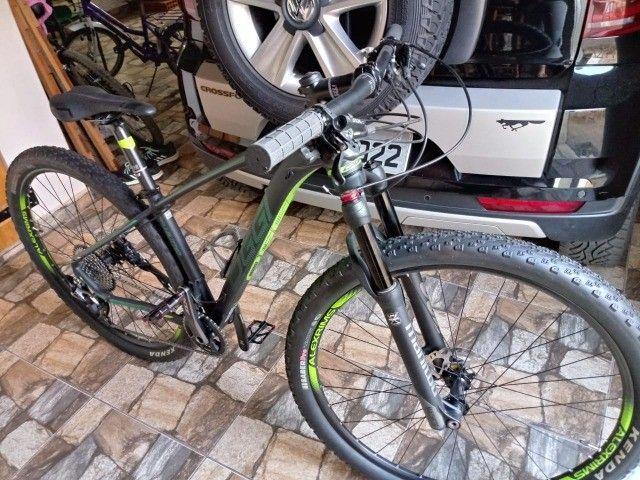 Bicicleta Oggi Big Wheel 7.4 Quadro 15,5 Nova / 1 ano seguro grátis - Foto 3