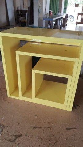 Nicho laqueado amarelo  - Foto 2