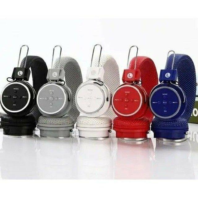 Headfone Sem Fio Altomex A-b05 Fone Bluetooth Micro SD FM MP3 MP4