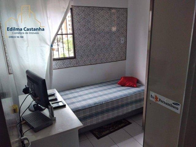 Excelente Apartamento com 4 dormitórios à venda, 94 m² por R$ 600.000 - Boa Viagem - Recif - Foto 20