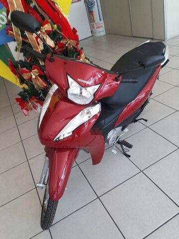 Moto Honda Biz 110 Entrada: 1.000 Em estoque!!!! - Foto 2