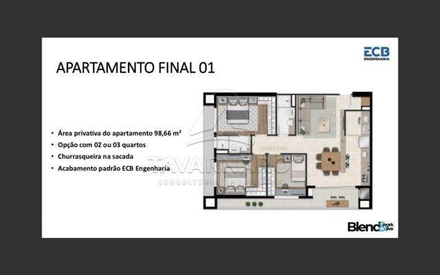 Apartamento à venda com 3 dormitórios em Centro, Ponta grossa cod:V426 - Foto 3