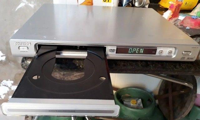 Dvd Player Philips Com Função Karaoke Com Manual Controle