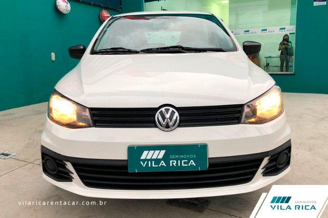 Vila Rica Seminovos VW Gol 1.0 12v MPI TotalFlex Trendline 4P Manual - Foto 13
