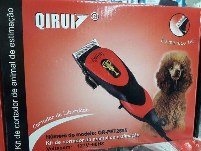 Kit maquina de tosa pet para cães e gatos