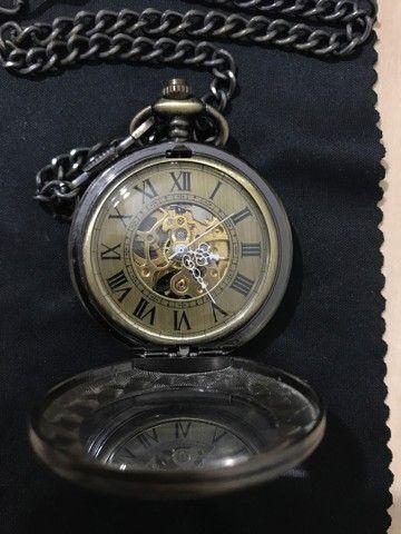 Relógio de bolso automático YISUYA ORIGINAL - Foto 4