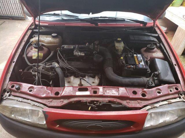 Ford fiesta 97 super inteiro - Foto 3