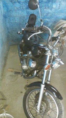 Vendo moto Yamaha XV 250 Virago ano 97 - Foto 2