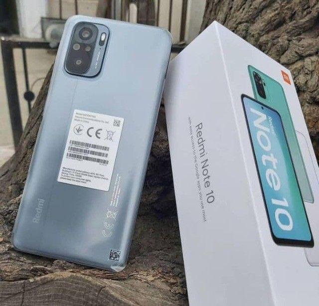 Redmi Note 10 64GB/4GB Ram Cinza/Verde  - Foto 3