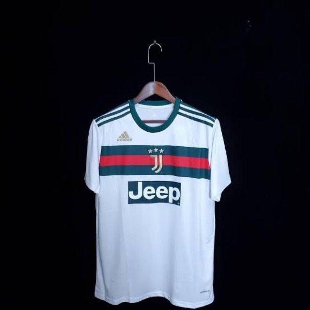 Camisa Juventus Gucci 2020/2021 - Foto 2