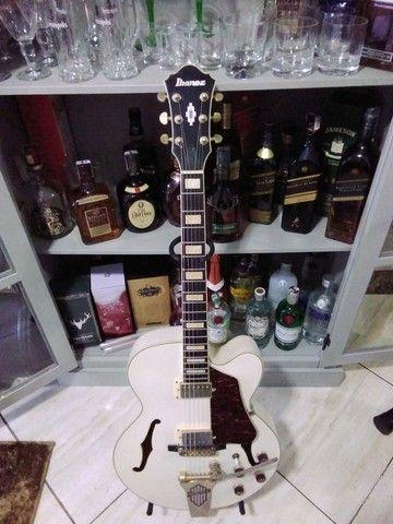 Guitarra Semiacústica Ibanez AF-75 TDG[seminova(regulada)]