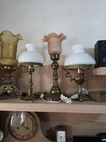 Vendo Abajur  e relógio  antigos  - Foto 4
