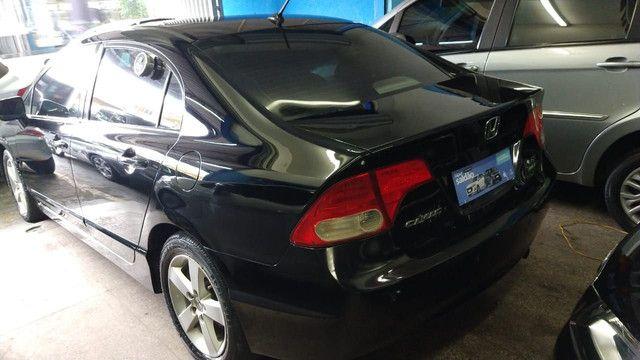 Honda Civic LXS  2008 1.8 carro automático - Foto 7