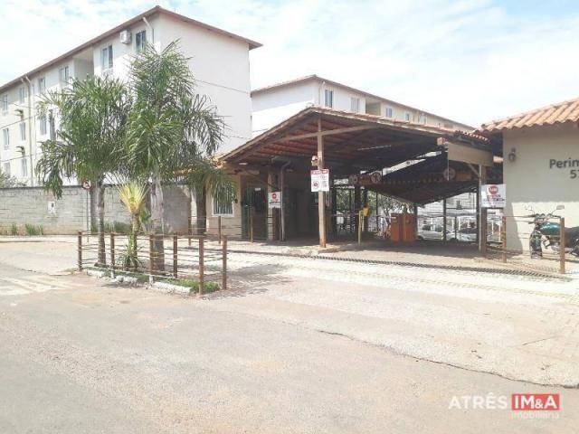 Apartamento com 2 dormitórios para alugar, 67 m² por r$ 600,00/mês - setor perim - goiânia - Foto 2