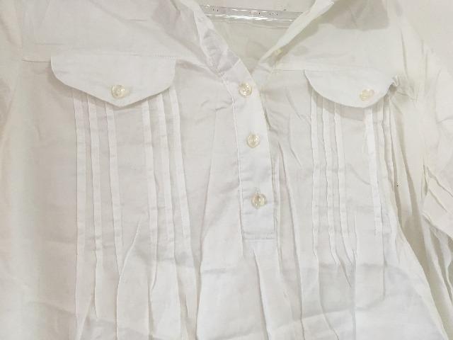 Vestido branco tam P/ serve M $15 - Foto 3