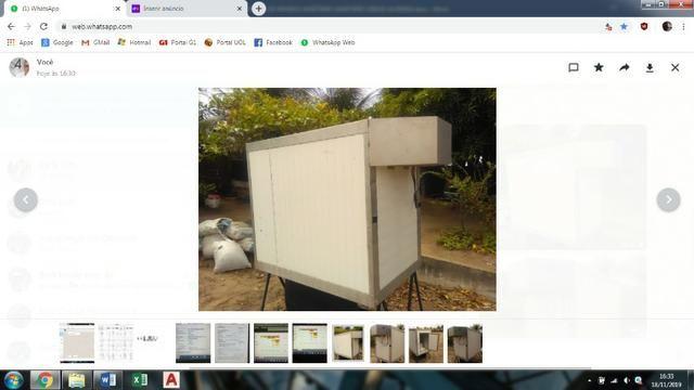 Baú refrigerado para caminhonete - Foto 3