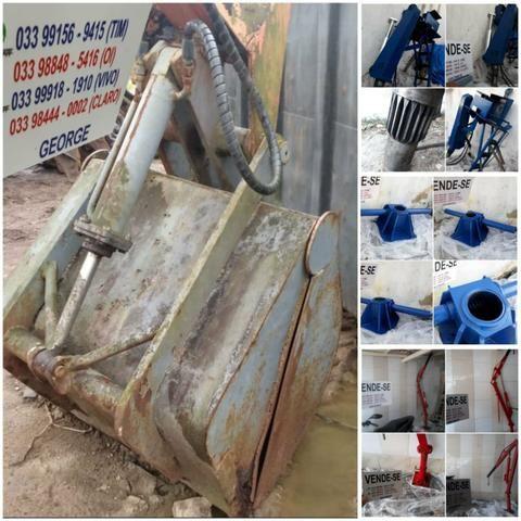 Unha hidraulica,que abre e fecha,para pegar areia brita carvão,ou o que quizer - Foto 2